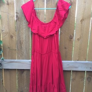 Candie's Red XL Dress WITH POCKETS